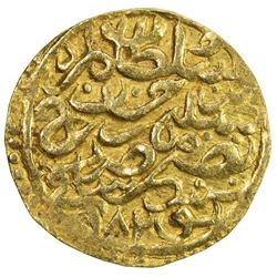 OTTOMAN EMPIRE: Murad III, 1574-1595, AV sultani (3.46g), Tunis, AH982. VF-EF