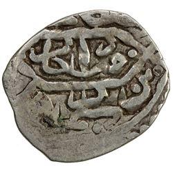 OTTOMAN EMPIRE: Murad III, 1574-1595, AR akce (0.64g), Canca (Khanjeh), AH982. VF