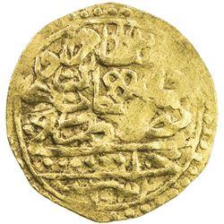 OTTOMAN EMPIRE: Murad IV, 1623-1640, AV sultani (3.40g), Halab, AH1032. VF