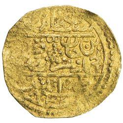 OTTOMAN EMPIRE: Murad IV, 1623-1640, AV sultani (3.36g), Tarabulus (Trablus), AH1033. VF
