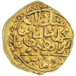 OTTOMAN EMPIRE: Mehmet IV, 1648-1687, AV sultani (3.41g), Jaza'ir (Cezayir), ND. EF