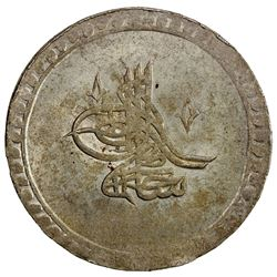 TURKEY: Selim I, 1789-1807, AR 2 kurush (25.20g), Islambul, AH1203 year 4. UNC