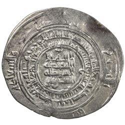 SAFFARID: al-Layth b. 'Ali, 908-910, AR dirham (2.96g), Fars, AH297. VF