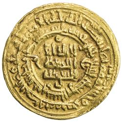 SAMANID: Nuh II, 943-954, AV dinar (3.76g), Nishapur, AH339. VF