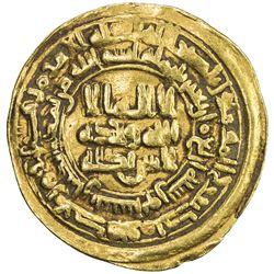 SAMANID: 'Abd al-Malik I, 954-961, AV dinar (4.16g), Nishapur, AH344. VF