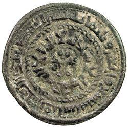 SAMANID: 'Abd al-Malik I, 954-961, AE fals (3.91g), Quba, AH349. VF-EF