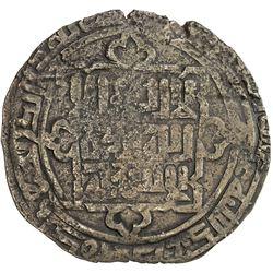 QARAKHANID: Anonymous, 1213-1214, AE dirham (9.21g), Uzkand, AH610. VF-EF