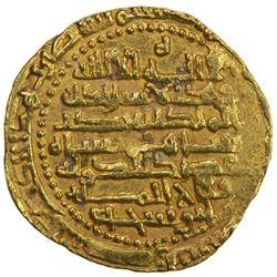 BUWAYHID: 'Adud al-Dawla, 949-983, AV dinar (2.83g), al-Basra, DM. EF