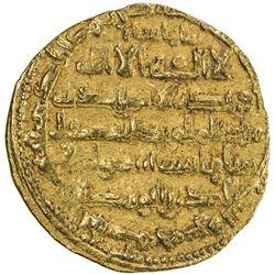 BUWAYHID: Baha' al-Dawla, 989-1012, AV dinar (3.36g), 'Uman, AH395. VF