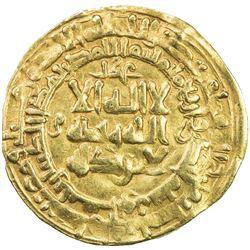 GHAZNAVID: Mahmud, 999-1030, AV dinar (3.45g), Nishapur, AH401. VF