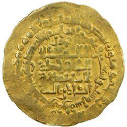 GHAZNAVID: Mahmud, 999-1030, AV dinar (4.10g), Ghazna, AH395. VF