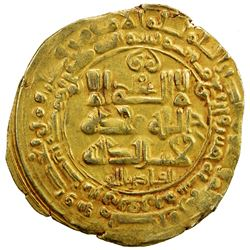 GHAZNAVID: Mahmud, 999-1030, AV dinar (3.67g), Ghazna, AH405. EF