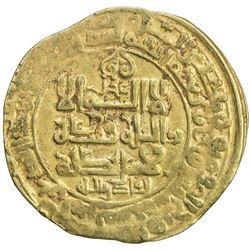 GHAZNAVID: Mahmud, 999-1030, AV dinar (3.38g), Ghazna, AH407. VF
