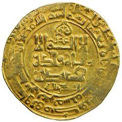 GHAZNAVID: Mahmud, 999-1030, AV dinar (4.12g), Ghazna, AH407. VF
