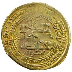 GHAZNAVID: Mahmud, 999-1030, AV dinar (3.83g), Ghazna, AH414. VF