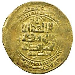 GHAZNAVID: Mahmud, 999-1030, AV dinar (3.58g), Ghazna, AH415. VF