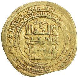 GHAZNAVID: Mahmud, 999-1030, AV dinar (4.09g), Ghazna, AH418. VF