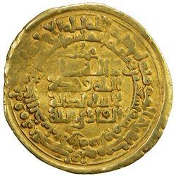 GHAZNAVID: Mahmud, 999-1030, AV dinar (4.10g), Herat, AH395. F-VF
