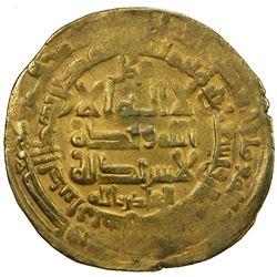 GHAZNAVID: Mahmud, 999-1030, AV dinar (4.30g), Herat, AH398. F-VF