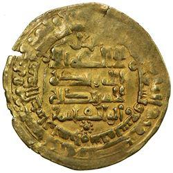 GHAZNAVID: Mahmud, 999-1030, AV dinar (2.92g), Herat, AH399. VF