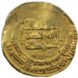 GHAZNAVID: Mahmud, 999-1030, AV dinar (4.26g), Herat, AH403. VF