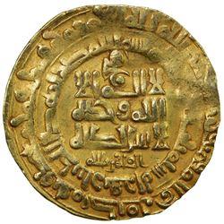 GHAZNAVID: Mahmud, 999-1030, AV dinar (3.78g), Herat, AH403. VF
