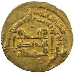 GHAZNAVID: Mahmud, 999-1030, AV dinar (2.98g) (Herat), AH403. VF