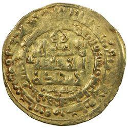 GHAZNAVID: Mahmud, 999-1030, AV dinar (4.07g), Herat, AH413. VF