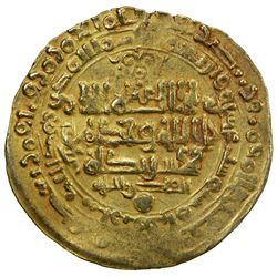 GHAZNAVID: Mahmud, 999-1030, AV dinar (3.45g), Herat, AH416. VF