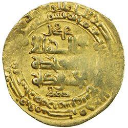 GHAZNAVID: Mahmud, 999-1030, AV dinar (3.47g), Herat, AH419. VF
