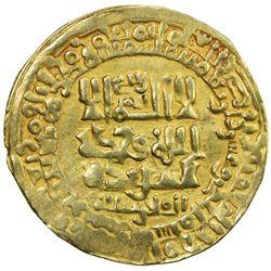 GHAZNAVID: Mahmud, 999-1030, AV dinar (3.10g), Herat, AH421. VF-EF