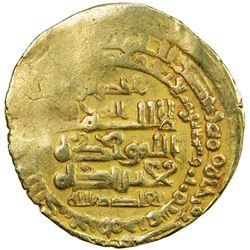 GHAZNAVID: Mas'ud I, 1030-1041, AV dinar (3.65g), Herat, AH423. VF