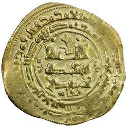 GHAZNAVID: 'Abd al-Rashid, 1049-1052, AV dinar (3.50g), Ghazna, AH440. VF-EF