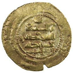 GHAZNAVID: Ibrahim, 1059-1099, AV dinar (5.03g), Ghazna, AH45x. VF-EF