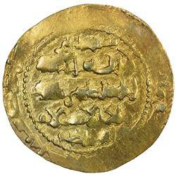 GHAZNAVID: Ibrahim, 1059-1099, AV dinar (4.36g), Ghazna, AH(49)1. VF-EF