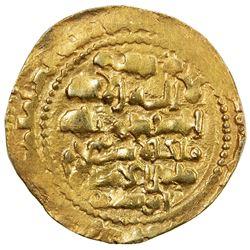 GHAZNAVID: Mas'ud III, 1099-1115, AV dinar (4.76g), Ghazna, AH(49)2. EF