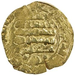 GHAZNAVID: Mas'ud III, 1099-1115, AV dinar (4.42g), Ghazna, AH505. VF-EF
