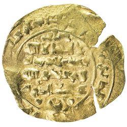 GHAZNAVID: Mas'ud III, 1099-1115, AV dinar (2.48g), Ghazna, AH505. AU
