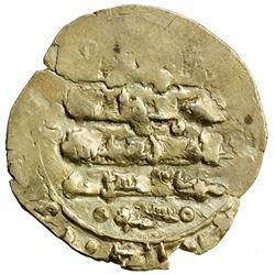 GHAZNAVID: Bahramshah, 1117-1157, AV dinar, pale gold (2.15g), Ghazna, DM. VF-EF