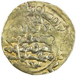 GHAZNAVID: Bahramshah, 1117-1157, AV dinar (4.74g), Ghazna. VF