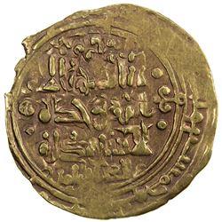 GREAT SELJUQ: Alp Arslan, 1058-1063, AV dinar (2.89g) (Herat), AH456. VF-EF