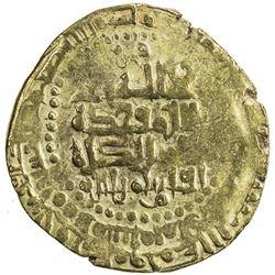 GREAT SELJUQ: Alp Arslan, 1058-1063, AV pale dinar (4.26g), Herat, AH(4)58. VF