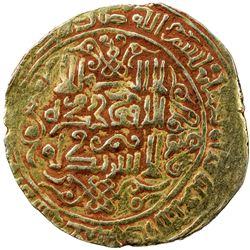 GREAT SELJUQ: Malikshah I, 1072-1092, pale AV dinar (3.53g), Herat, AH475. VF