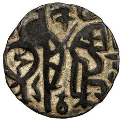 KHWARIZMSHAH: Muhammad, 1200-1220, AE jital (3.75g), [Qunduz], ND. VF
