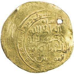 GHORID: Ghiyath al-Din Muhammad, 1163-1203, AV dinar (5.88g), Herat, AH596. F