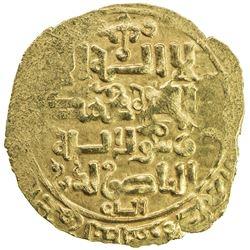 GHORID OF BAMIYAN: Jalal al-Din 'Ali, 1206-1215, AV dinar (2.29g), Walwalij (sic), DM. VF-EF