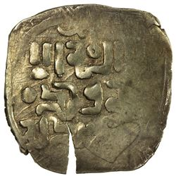 GREAT MONGOLS: Anonymous, ca. 1220s-1240s, AV dinar (2.75g), NM. VF
