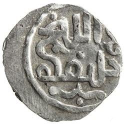 GREAT MONGOLS: Anonymous, ca. 1260s, AR dirham (1.35g), NM. VF