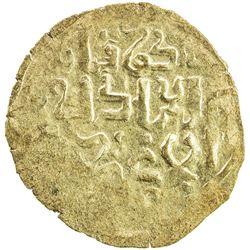 GREAT MONGOLS: Mongke, 1251-1260, AV broad dinar (2.86g), NM, ND. EF