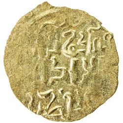GREAT MONGOLS: Mongke, 1251-1260, AV dinar (2.07g), NM, ND. EF